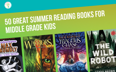50 Fabulous Summer Reading Books for Middle Graders