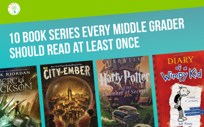10 Book Series Every Middle Grader Should Read at Least Once