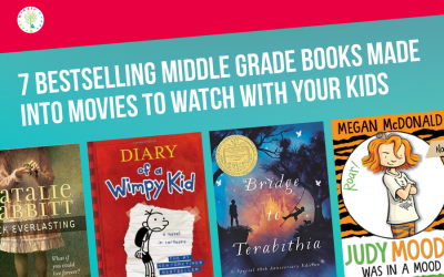 7 Bestselling Middle Grade Books Made Into Movies to Watch With Your Kids