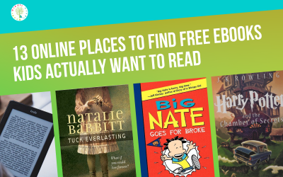 13 GREAT Places to Find Free Books for Kids Online