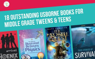 18 Outstanding Usborne Books for Middle School Tweens